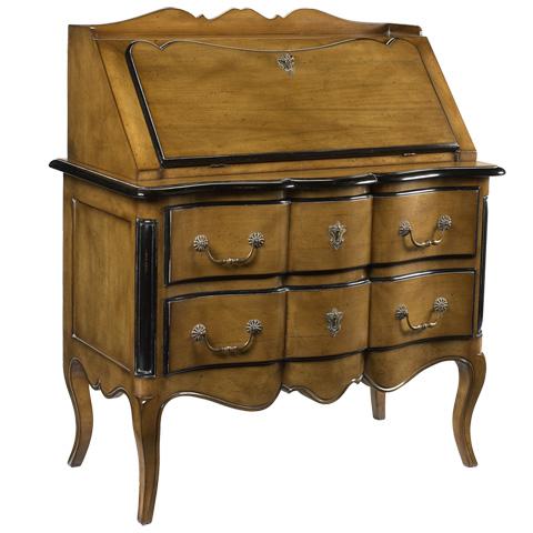French Heritage - Laetitia Drop Front Secretary Desk - A-2345-401-SBBK