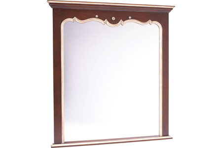 French Heritage - St.Germain Rectangular Wall Mirror - A-2404-401-ANIV
