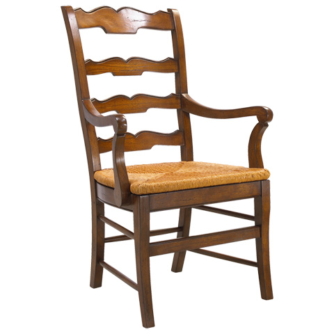 Image of Beaujolais Ladder Back Arm Chair