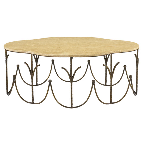 French Heritage - Garden Party Coffee Table - M-1340-107-ABRO