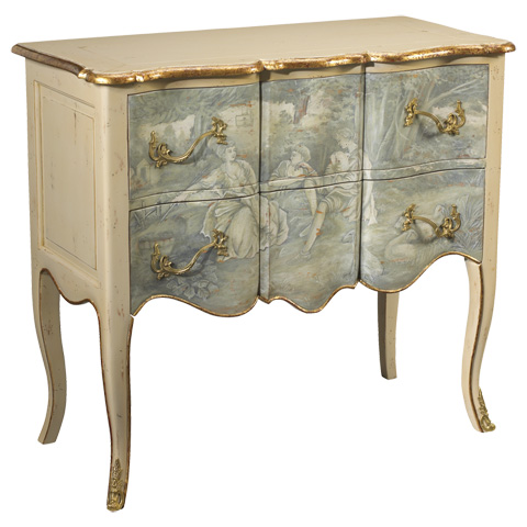 Image of Roanne Ivory Accent Chest