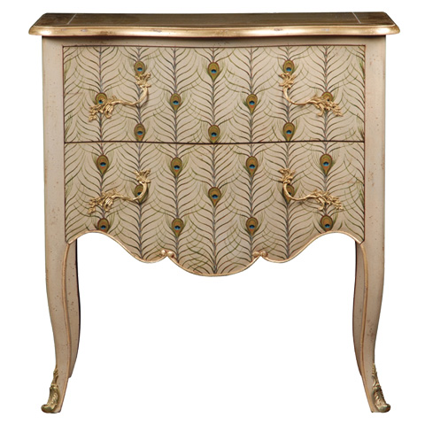 French Heritage - Marseillan Two Drawer Accent Chest - M-1502-412-FEAT
