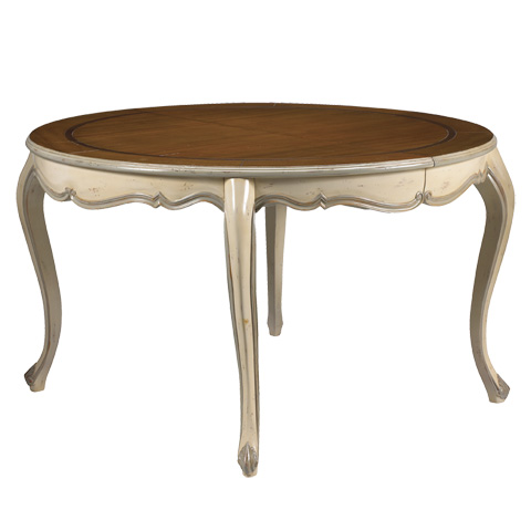 French Heritage - Vernon Round Dining Table - M-1520-402-IVSM