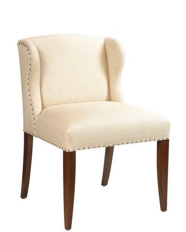 French Heritage - St. Croix Short Wing Desk Chair - M-1529-401-ANT