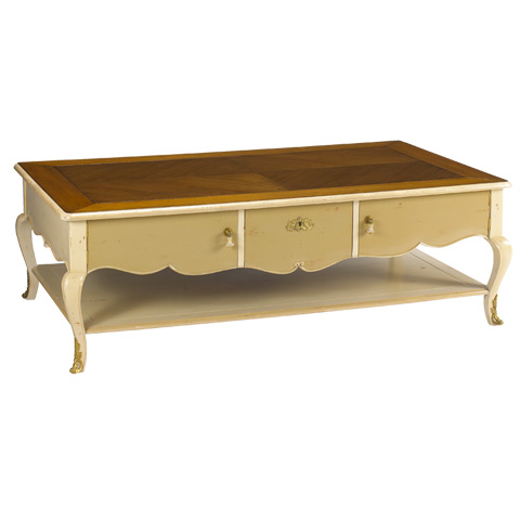 French Heritage - Lorient Rectangular Coffee Table - M-1540-404-SBBE