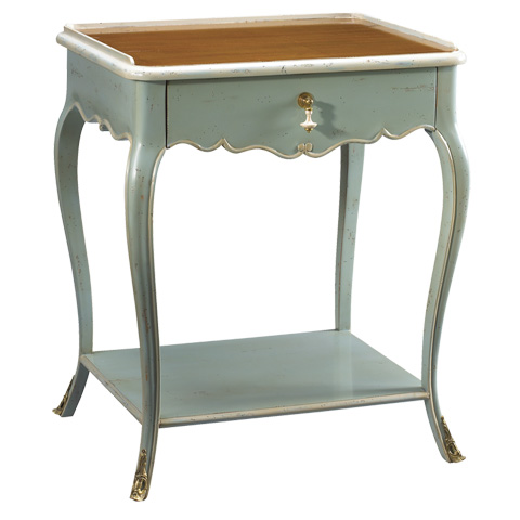 French Heritage - Sabrina One Drawer End Table - M-1541-404-SBLB