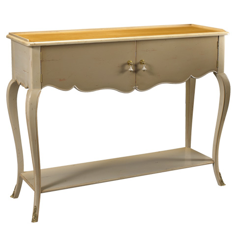 French Heritage - Gastonia Console with Cabinet - M-1544-404-SBBE