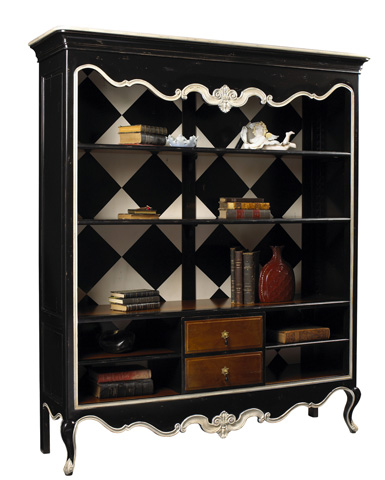 Image of Anslot Open Bookcase Display Cabinet