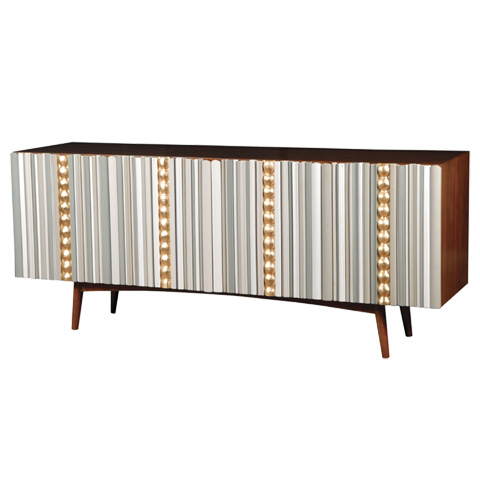 French Heritage - Avrille Four Door Sideboard - M-1725-401-IBGB