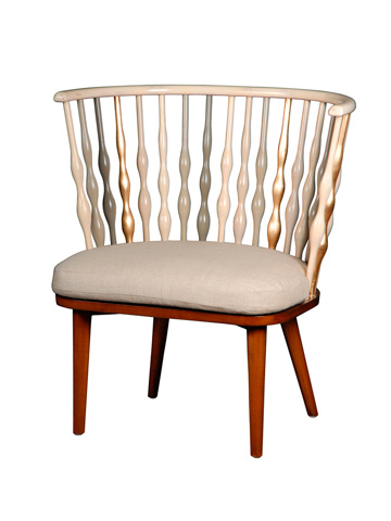 French Heritage - Evreux Spindle Back Chair - M-1728-201-IBGB