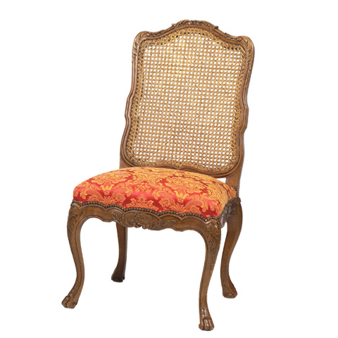 French Heritage - Kent Cane Back Side Chair - M-7228-205-ANT