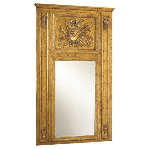 Image of Quatuor Metallic Trumeau Wall Mirror