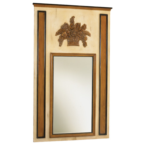 French Heritage - Le Marche Multi-Color Wall Mirror - M-8704-210-VOU
