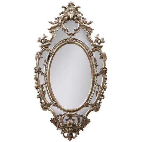Image of La Rochette Carved Metallic Mirror
