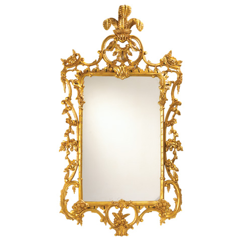 French Heritage - LaGaude Ornate Carved Wall Mirror - M-8704-219-GLD