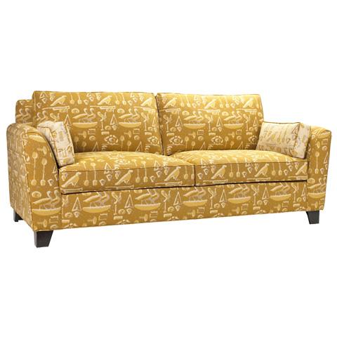 French Heritage - Deauville Cushion Back Sofa - U-3060-0390