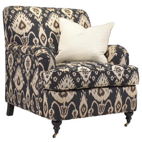 French Heritage - Nimes English Arm Chair - U-3062-0139