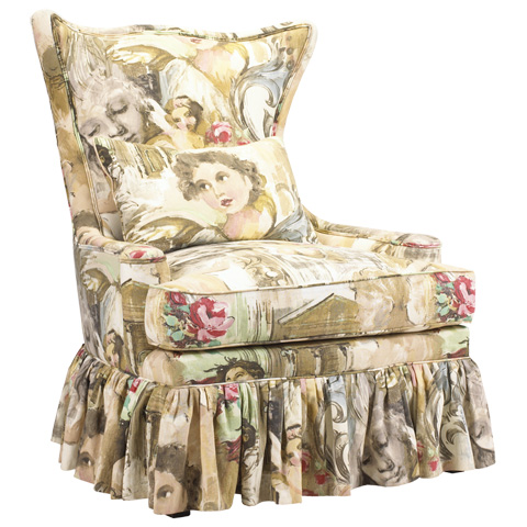 Image of Voltaire Accent Wing Chair