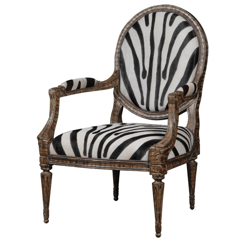 Image of Antonne Oval Back Accent Chair