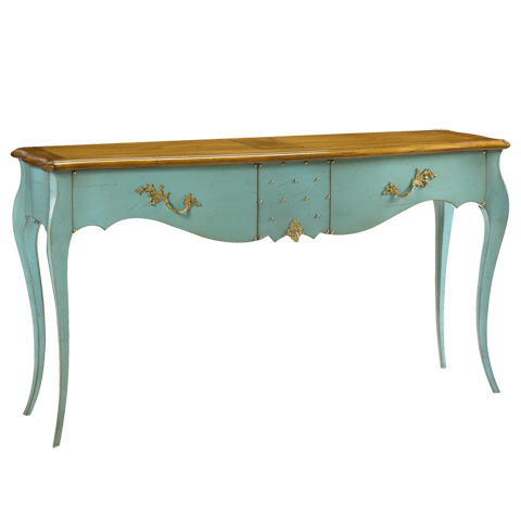 French Heritage - Marguerite Rectangular Console - A-2344-406-ACHB