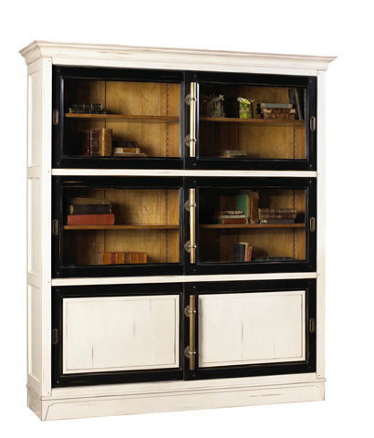 French Heritage - Calminius Bookcase - A-2349-406-BKWT