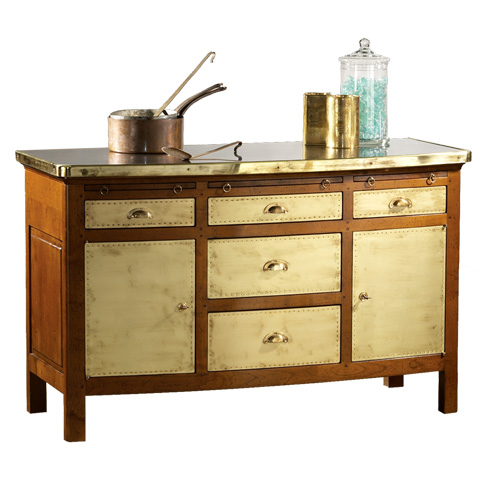French Heritage - Candy Maker's Work Chest - A-4225-401-BEIGE