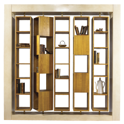 French Heritage - Virevolte Bookcase - A-4249-401-LC
