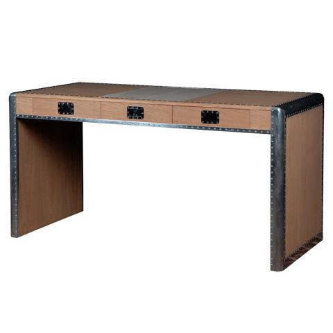 French Heritage - Ferault Oak Desk - M-1745-1003-O