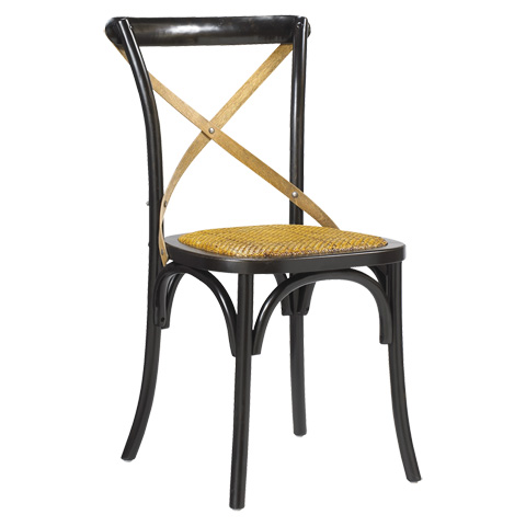 Image of Bosquet Side Chair in Black