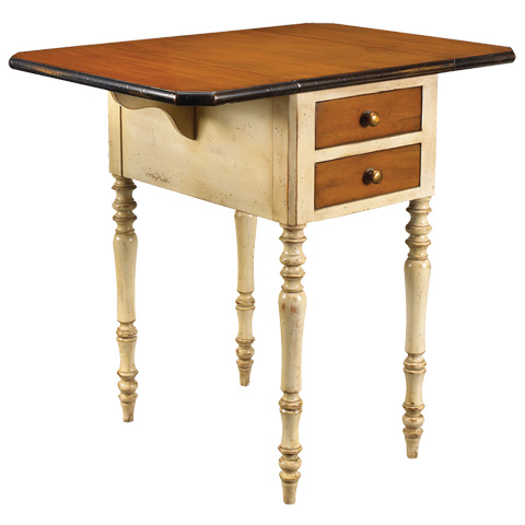 French Heritage - Accent Table with Drop Sides - M-FL41-208-IVO