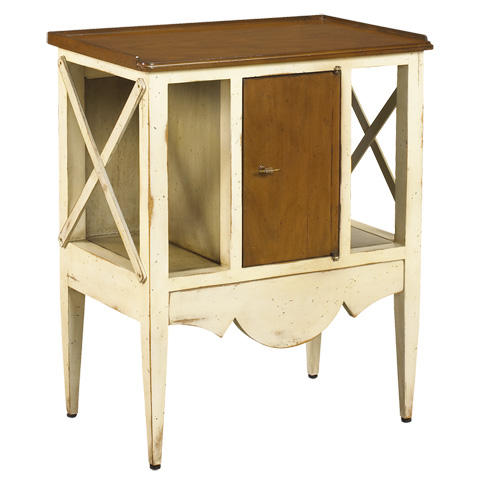 French Heritage - Storage Accent Table - M-FL41-254-LCIG