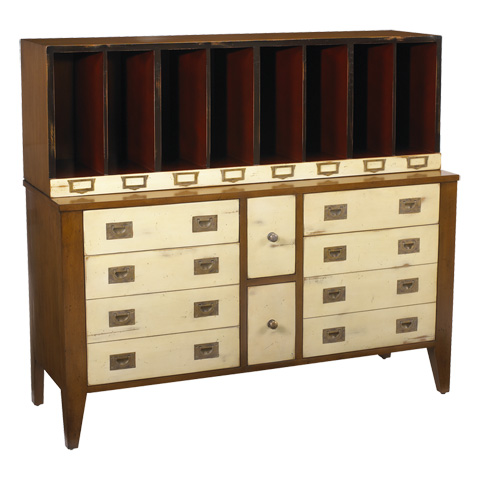 French Heritage - Storage Unit in Beige - M-FL50-082E-BEI