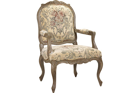 French Heritage - Pierre Bergere Chair - U-3072-0229