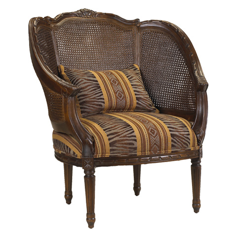 French Heritage - Regence Double Cane Arm Chair - U-3076-0137