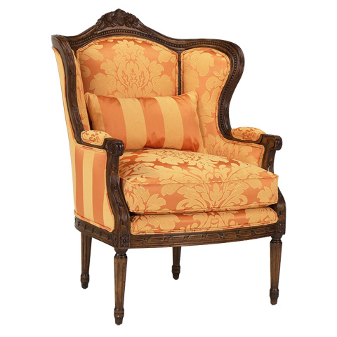 French Heritage - Emanuelle Chair - U-3076-0331