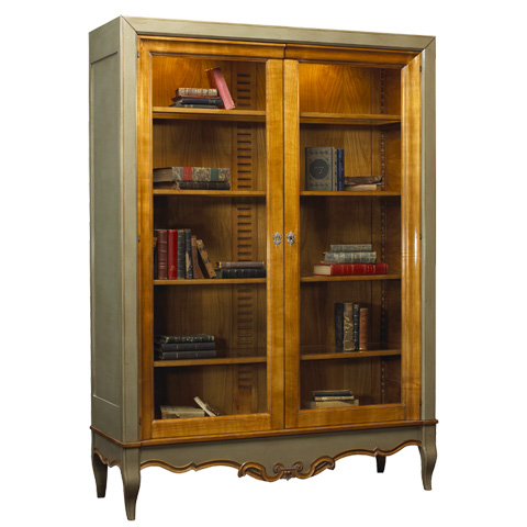 French Heritage - Baroque Display Cabinet - A-2322-402-ACHG