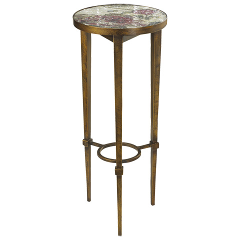 French Heritage - Fleur Accent Table with Mosaic Top - M-1342-108-COP
