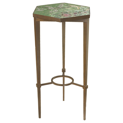 French Heritage - Cherry Blossom Accent Table - M-1342-110-RUST