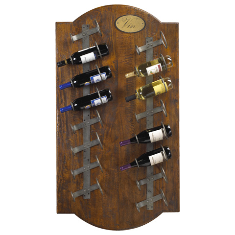 French Heritage - Anjou Wine Wall Rack - M-1359-1203-CBAI