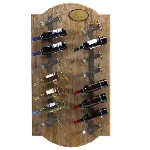 French Heritage - Anjou Wine Wall Rack - M-1359-1203-MAL