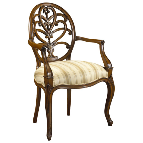 French Heritage - Briance Arm Chair - M-1527-203-SBCH