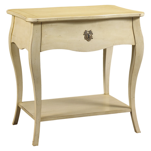 French Heritage - Passy Night Table - M-2106-401-IVO