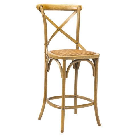 French Heritage - Bosquet Counter Stool - M-2426-1001-LOK