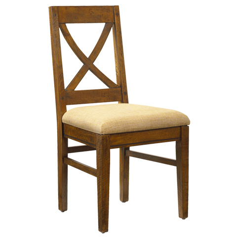 French Heritage - Pyrenees Cross Back Side Chair - M-2528-1101-CBRL