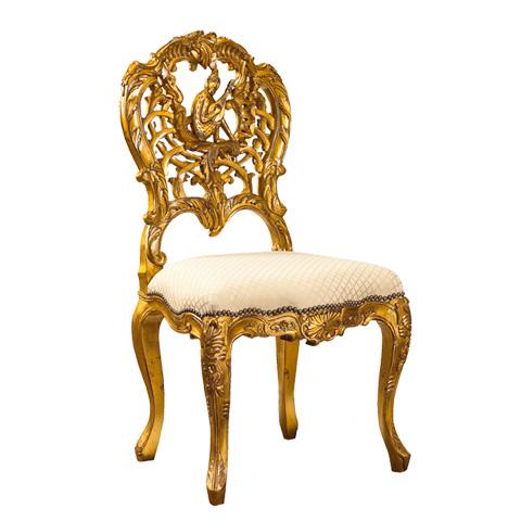 French Heritage - Concerto Monkey Chair - M-7228-206-GLDF