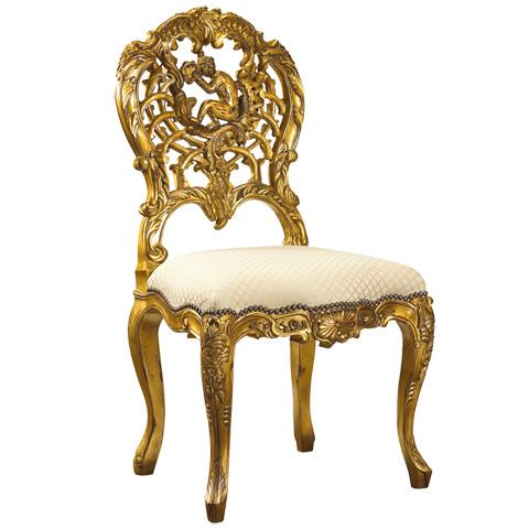 French Heritage - Concerto Monkey Chair - M-7228-206-GLDG