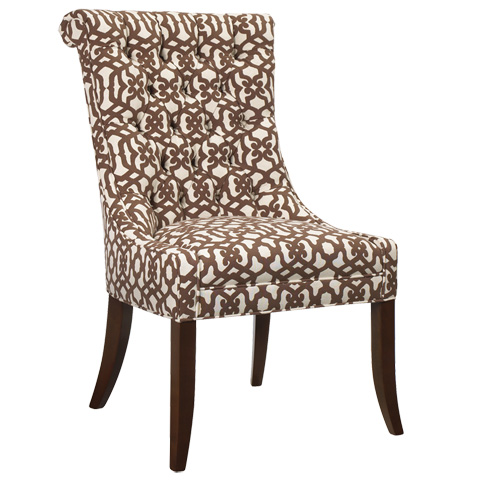 French Heritage - Matignon Tufted Side Chair - M-7228-602