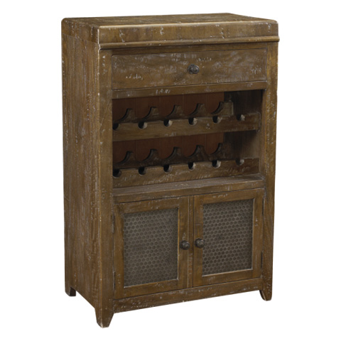 French Heritage - Le Mans Wine Cabinet - M-1359-1201-TBRH