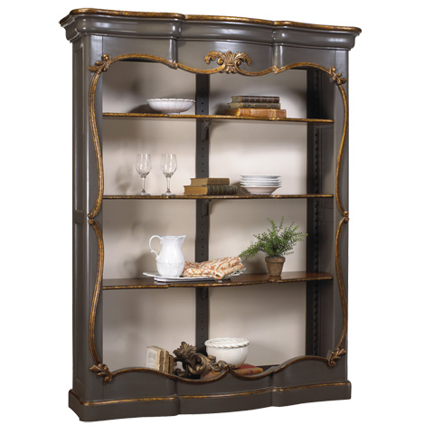 French Heritage - Chenonceau Bookcase - M-1549-411-GLDG