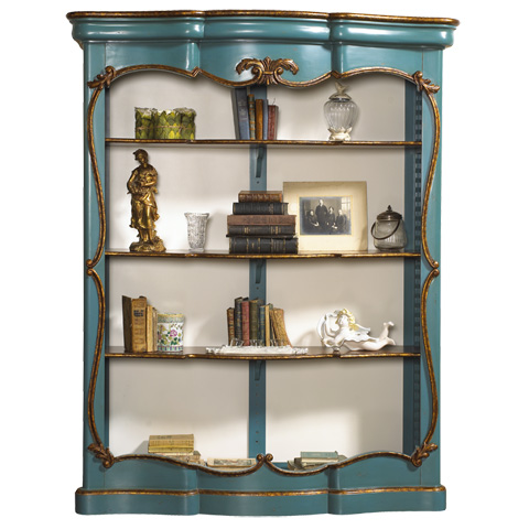 French Heritage - Chenonceau Bookcase - M-1549-411-TQIV